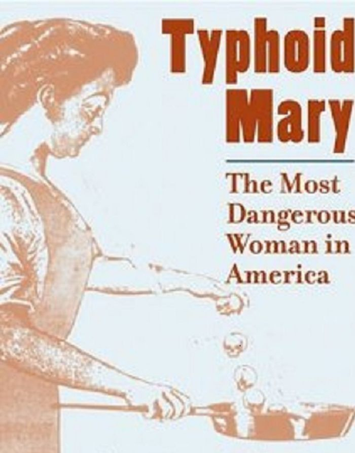 Mary Mallon, also known as Typhoid Mary, was a cook in the early 1900s who infected over 50 people with S. Typhi.