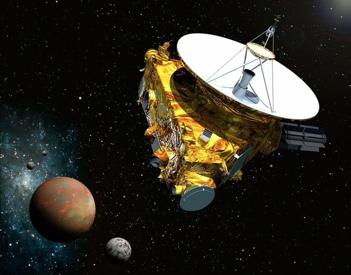 NASA's New Horizons spacecraft has begun its downlink of Pluto data to Earth.