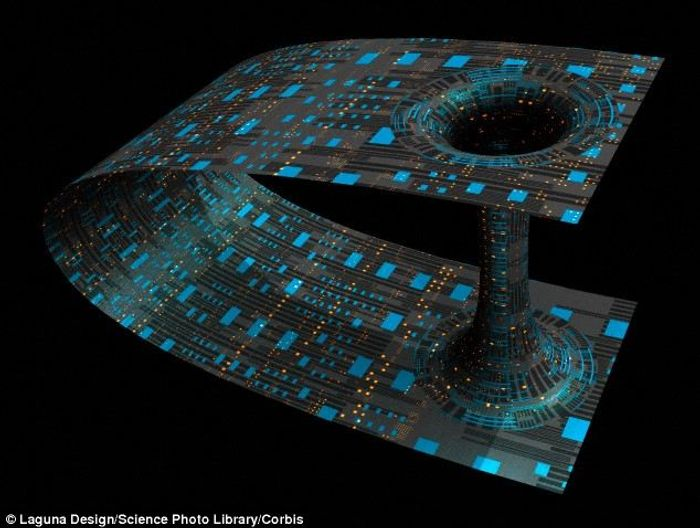 Scientists believe they've created a wormhole using magnets.