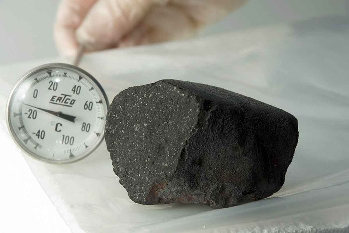The special meteorite that struck Tagish Lake in Canada in 2000.