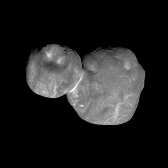 This is the latest image of Ultima Thule that has been downloaded from New Horizons by astronomers.