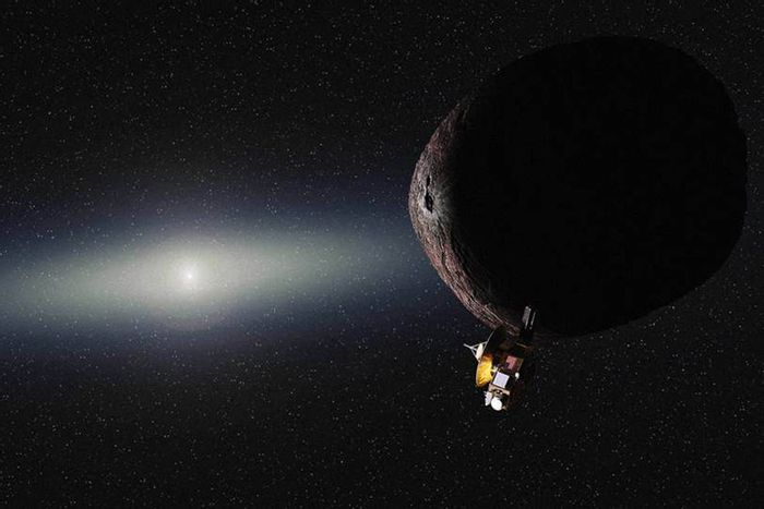 NASA's New Horizons team has just submitted its request to have New Horizons fly past KBO 2014 MU69 for a study and photographs.