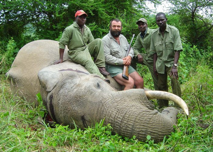 Trophy hunting is extremely controversial. Photo: National Geographic