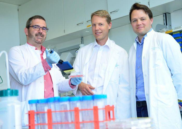 Dr. van der Boorn, Dr. Hartmann, and Dr. Hornung from the University of Bonn