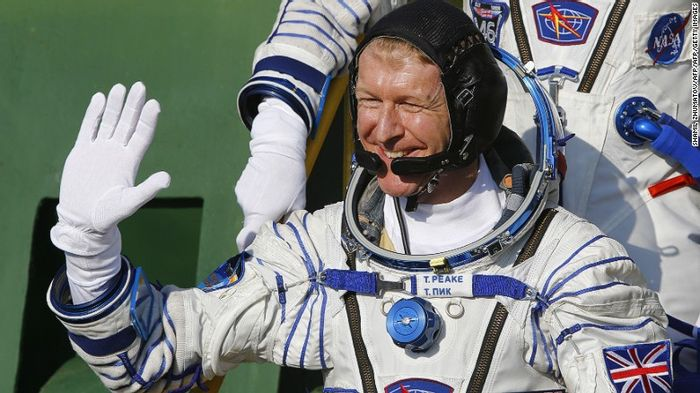 Tim Peake is the first British astronaut on board the International Space Station.