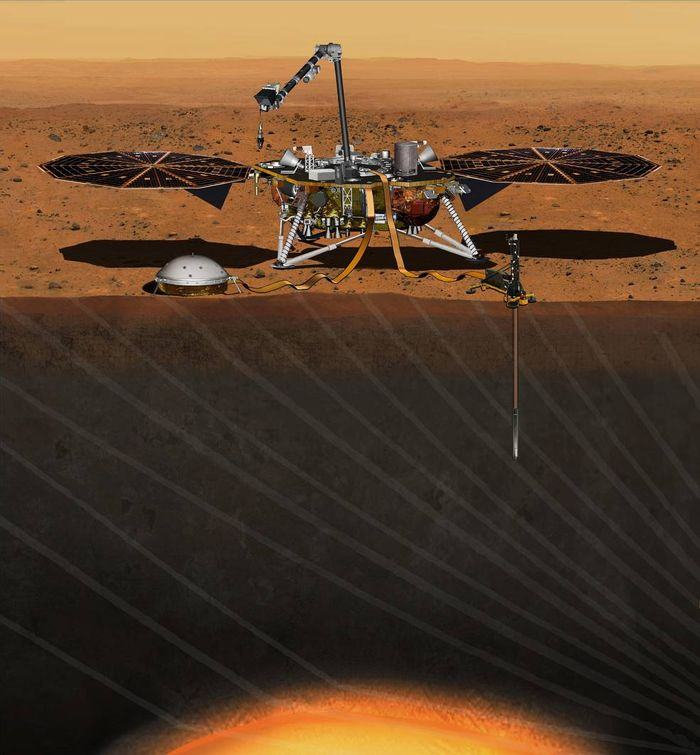 NASA is planning a 2018 launch for the Mars InSight mission after premature vacuum failure delayed the first launch plans.