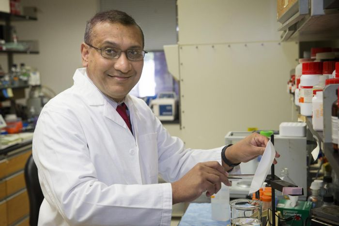 Anindya Dutta, PhD, MBBS, and his colleagues have made a discovery about HPV that could lead to new treatments for cervical cancer and other cancers caused by the virus, the most common sexually transmitted disease.  / Credit: Dan Addison | University of Virginia Communications