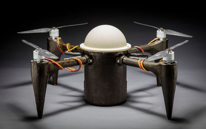 Researchers at John Hopkins University have created a drone that can tackle water as well as air.