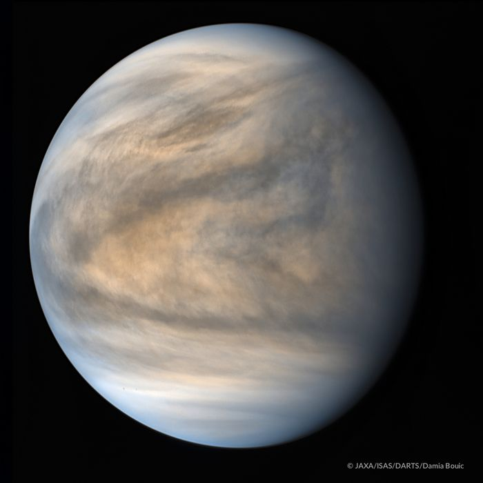 A new view of Venus, made possible with JAXA's Akatsuki spacecraft.