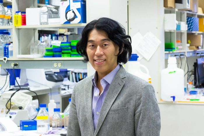 U of A medical geneticist Toshifumi Yokota is testing a new treatment for Duchenne muscular dystrophy that acts like a stitch to repair a genetic mutation in patients with the debilitating disease. / Credit: Jordan Carson