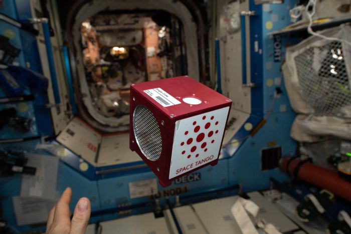 Space Tango CubeLab on board the International Space Station ISS. / Credit: Space Tango