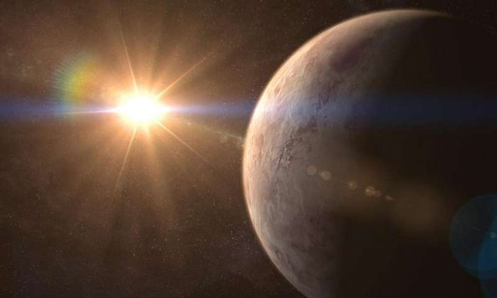 GJ 536 b is an Earth-like exoplanet orbiting a red dwarf even smaller than our own Sun.