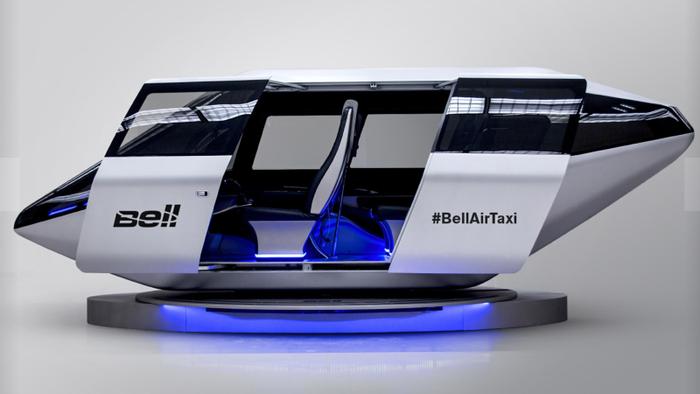Urban Air Taxi concept, credit: Bell