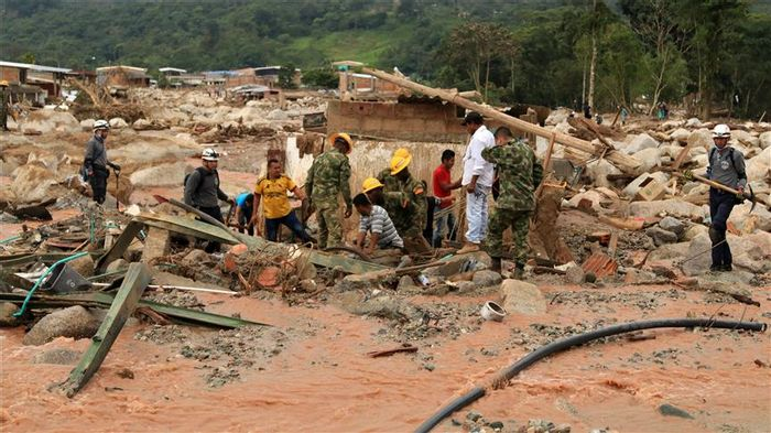 Recent flooding in Mocoa, Colombia provoked deadly landslides. Photo: Anadolu Agency