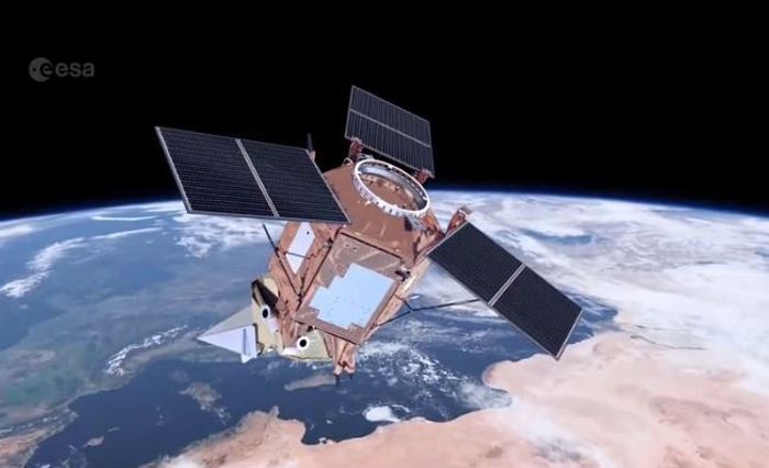 TROPOMI satellite screen shot, credit: ESA/ATG medialab
