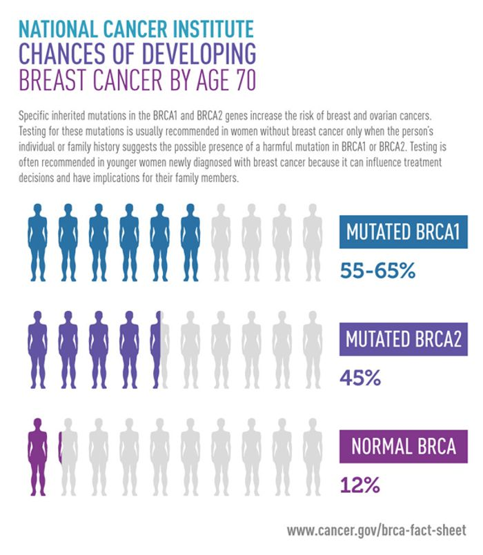 Breast cancer risk analysis: The discovery of BRCA gene variants improved early breast and ovarian cancer screening.