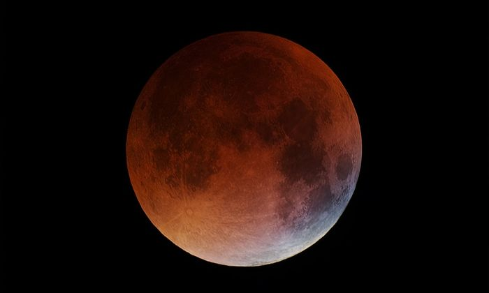 An example of a Blood Moon, photographed in 2015.