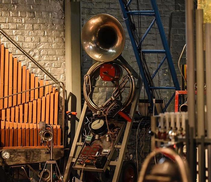 Barbadoro's orchestra, credit: Leonardo Barbadoro