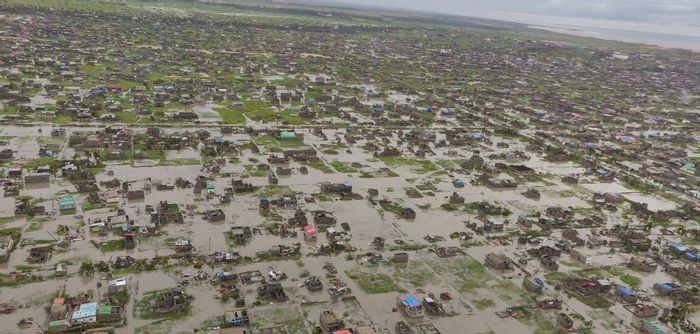 Entire areas are inundated under up to six meters of water. Photo: Africa Feeds
