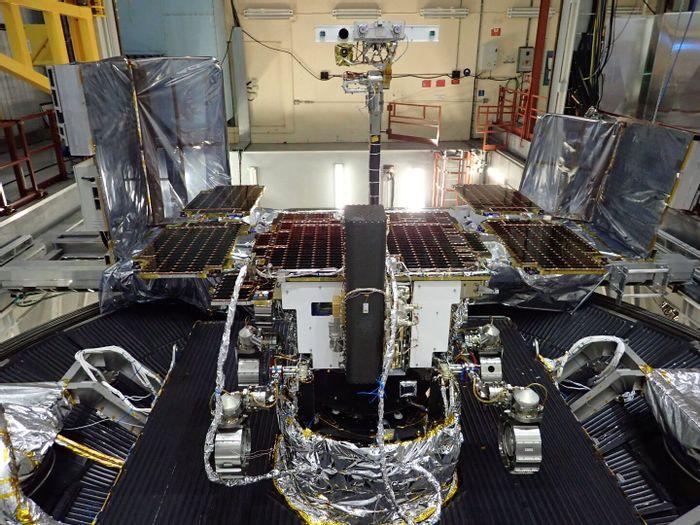 The ExoMars Rover.