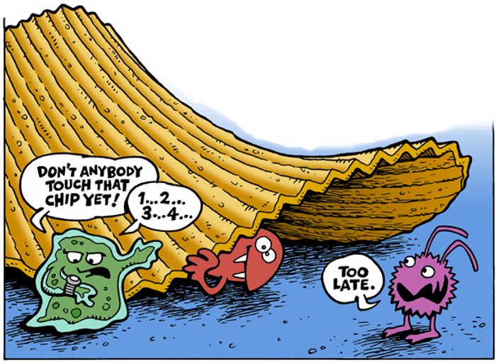 Five Second Rule - Crop from Greg Williams' WikiWorld