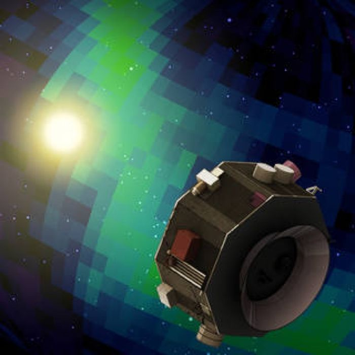 An artist's impression of the IMAP probe.