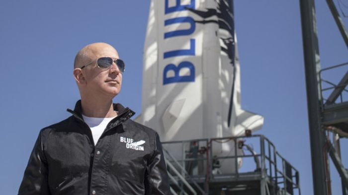 Jeff Bezos is funding Blue Origin with money from his other companies.