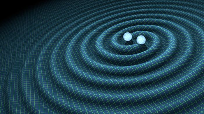 LIGO scientists have officially announced the existence of gravity waves in space.