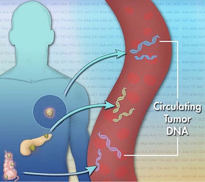 Circulating tumor DNA can help detect cancer's presence.