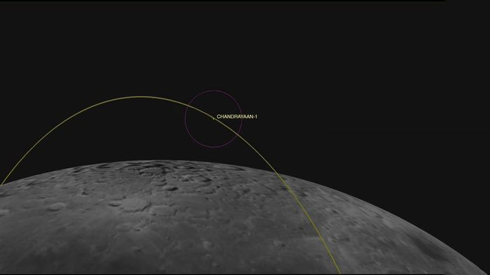 Using radar technology, NASA has found a lunar orbiter from India that hasn't been heard from in 8 years.