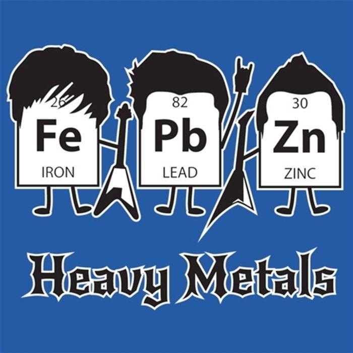 Many heavy metals are toxic to bacteria.