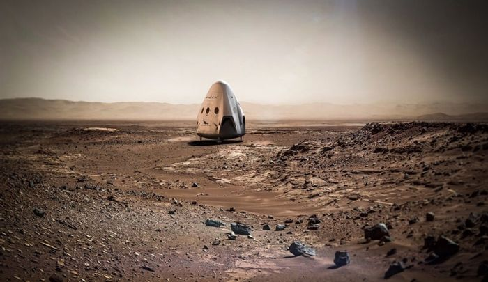 Elon Musk says that the Red Drgaon capsule will not be used for manned missions to Mars. Instead, something 'vastly bigger' will need to be made.