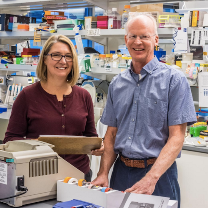 Dr. Jane Buckner of the Benaroya Research Institute at Virginia Mason and Dr. David Rawlings at Seattle Children's Research Institute are leading research to develop an immunotherapy for type 1 diabetes. / Credit: Seattle Children's