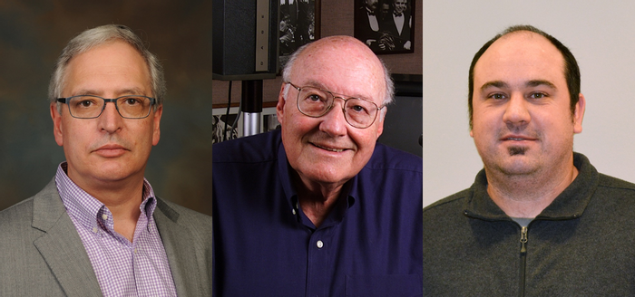The Scripps Research Institute's Hugh Rosen, Michael Oldstone and John Teijaro (left to right) led the new study.