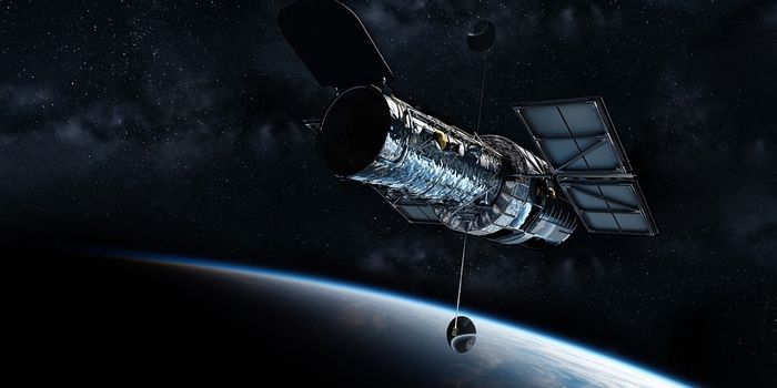 The Hubble Space Telescope was built on Earth and then sent to space.
