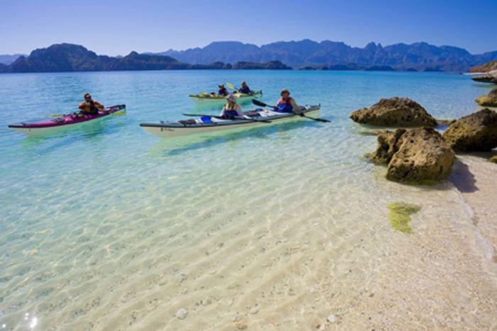Loreto Bay National Marine Park in Baja California, Mexico