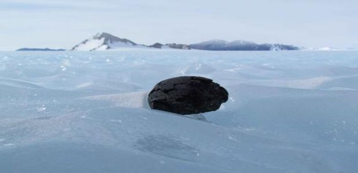 Researchers believe there is a layer of iron meteorites under Antarctica.