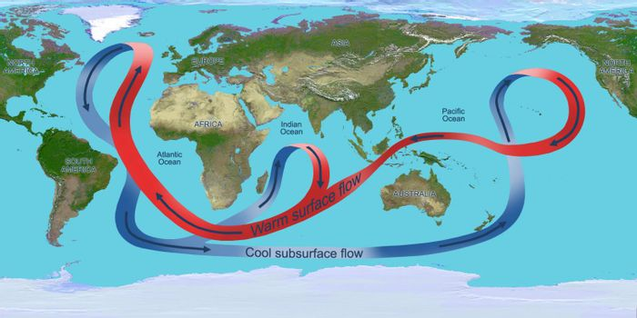 Ocean circulation affects global climate patterns. Photo: Phys.org