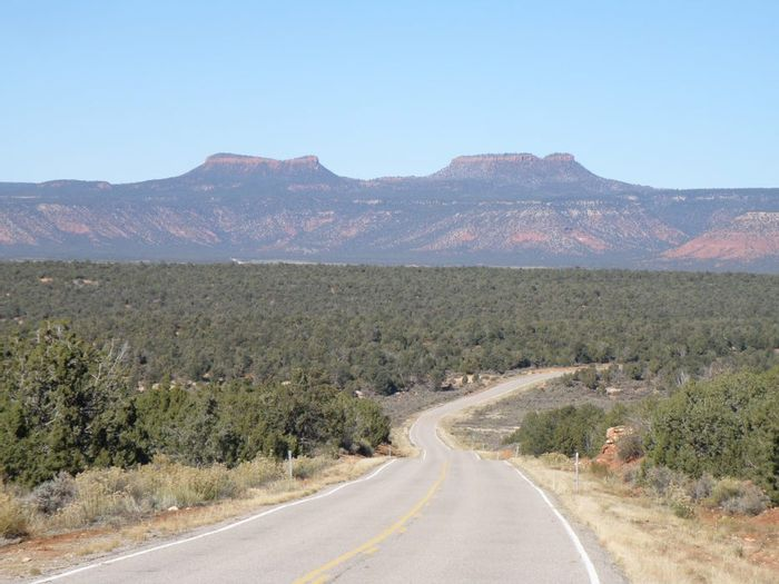 Bears Ears as seen from Utah State Route 261. Photo: Mountain Zone
