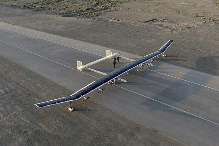 China has unveiled the world's second-largest solar-powered drone, capable of staying in flight for months at a time.