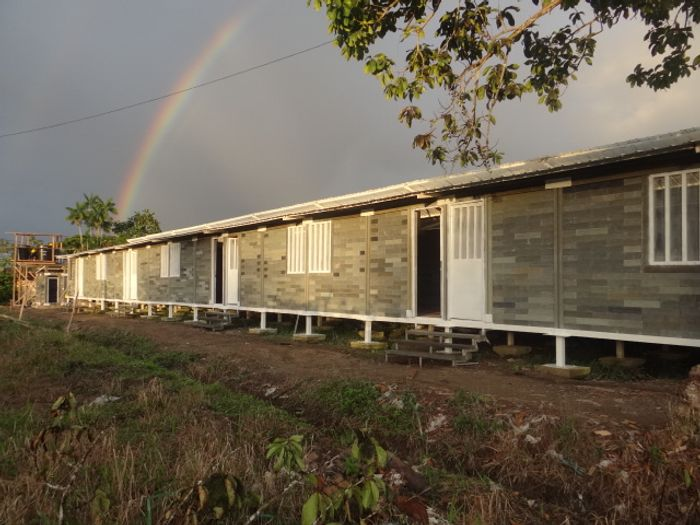 The houses build are high quality and low cost. Photo: www.eltiempo.com