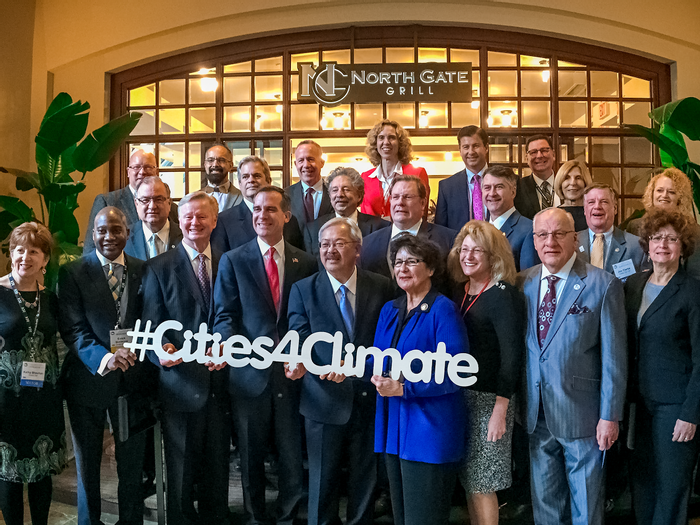 With the hashtag Cities for Climate, mayors unite under a common goal. Photo: Memphis Flyer