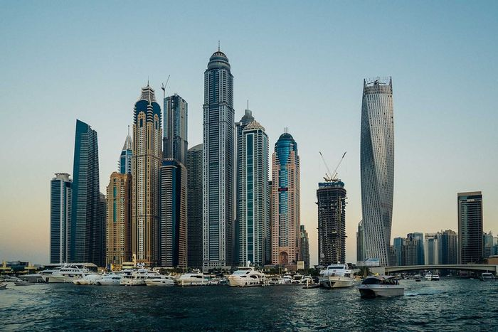 Cities like Dubai depend on desalination for drinking water.