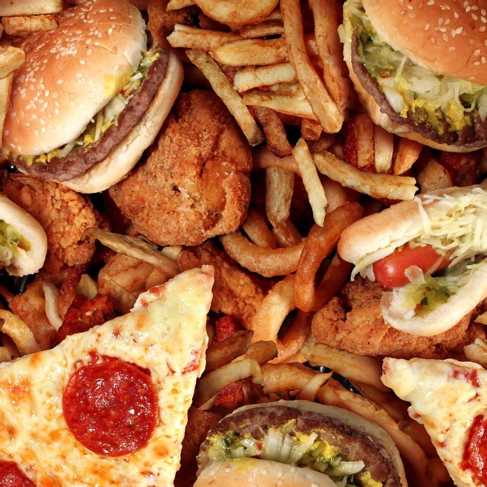 Processed foods rich in saturated fat have become a major part of the American diet.