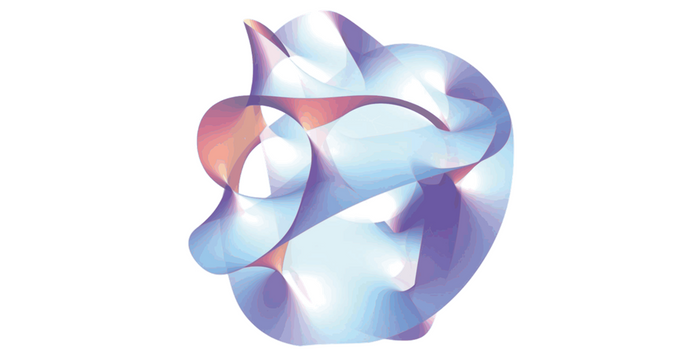 Conceptual rendition of String Theory (Wikimedia Common)