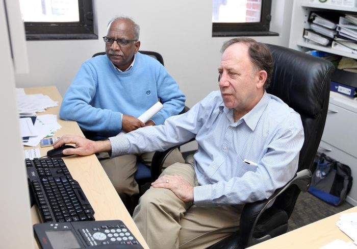 Fibrosis researchers Stanley Hoffman, Ph.D. and Dhandapani Kuppuswamy, Ph.D. Source: Medical University of South Carolina
