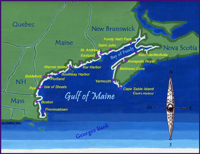 The Gulf of Maine covers a large region. Photo: GoMeExpedition