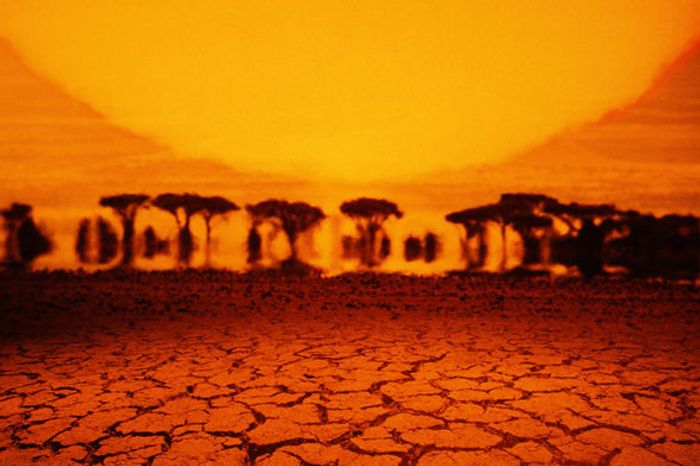 Heat may seem more pervasive in the years to come. Photo: Daily Express