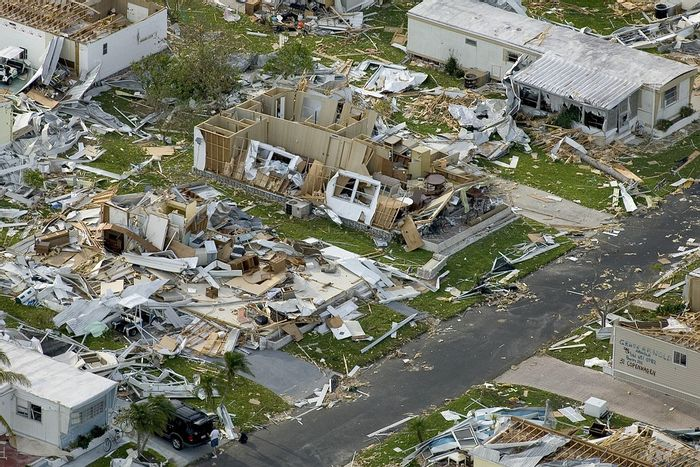 Hurricanes can greatly alter habitats and pave the way for natural selection among species. Photo: Pixabay