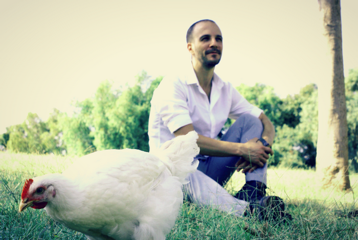 SuperMeat Co-founder and CEO Ido Savir, credit: SuperMeat on Facebook